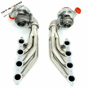 T4 Ar 80 81 Oil Turbo Manifold T3 T4 To 3 0 Vband Elbows For Ls1 Ls6 Lsx Gm V8