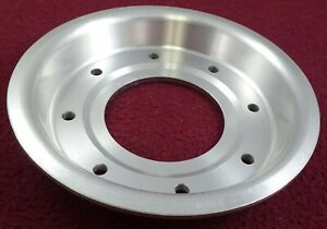 Racing Hart Wheels Silver Custom Wheel Center Cap Plate