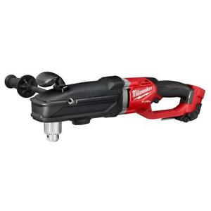 Milwaukee 2809 20 M18 Fuel Super Hawg 1 2 In Right Angle Drill Bare Tool