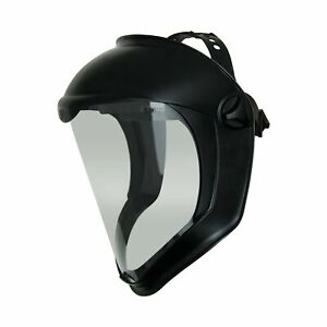 Uvex Bionic Face Safety Shield Clear Polycarbonate Visor Anti Fog Anti scratch