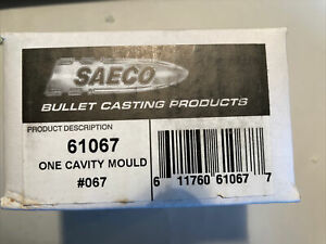 SAECO By Redding 1 Cavity Mould #067 Pistol rifle .452 $99.99