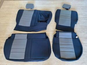 Wet Okole Neoprene Custom Seat Covers Nissan Titan Crew Cab Rear Seats Only
