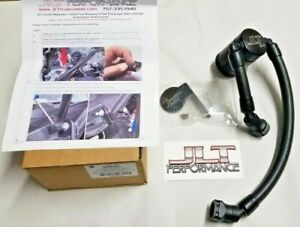 Jlt Passenger Side Black Oil Separator Catch Can 2020 Supercharged Shelby Gt500