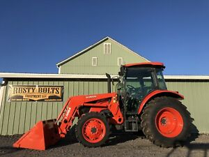 2019 Kubota M4 071d 4x4 Tractor Loader Ultra Grand Cab Nice Cheap Shipping