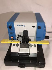 Leica Reichert jung 2040 Biocut Microtome Autocut Knife Holder 5 Ddk Knives