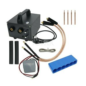 Spot Welding Machine Battery Spot Welder Diy Kit 220v Output 1300a Cx3500 Xr0