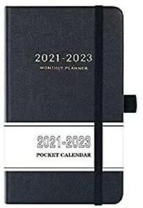 2021 2023 Pocket Calendar Monthly Pocket Planner 36 month With 63 Notes Page