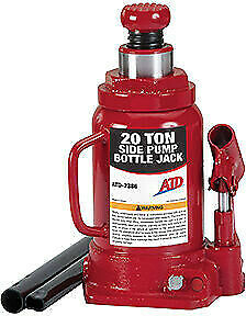 Atd Tools 7386 20 Ton Hydraulic Red Bottle Jack