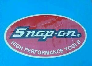 Nos Vintage Snap on Tools Snap On Tool Box Sticker Decal Man Cave Old 24 X 13