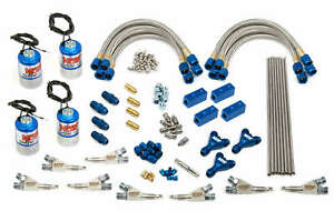 Nos Dry Professional Nitrous System Dual Stage W Single Fogger Nozzles