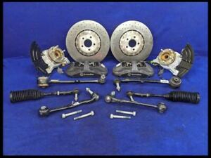 2015 2019 Ford Mustang Shelby Gt350 Complete Front Brembo Caliper Kit Oem