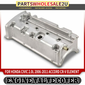 Engine Cylinder Valve Cover For Honda Civic Accord Cr v Element 2003 2011 Petrol