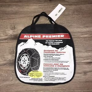 Alpine Premier Tire Snow Chain Used One Time Only Read Description