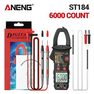 Professional Aneng St184 6000 Counts Digital Multimeter Clamp Meter True Tester