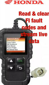 Honda Motorcycle Cbr650r Onwards 4 Pin Diagnostic Tool Obd Fi Scanner