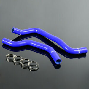 Blue Silicone Radiator Piping Clamps Kit For 02 09 Hyundai Tiburon V6 Gt 2 7l