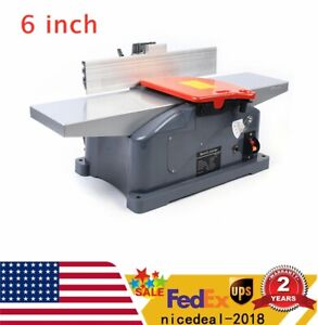 6 Inch 10a Benchtop Jointer Wood Working Planer Max Depth 3mm Handles