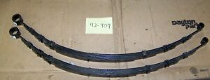 Rear Leaf Springs For 1962 64 Ford Fairlane With 3 Lift Bushings Included