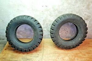 Jeep Goodyear Nos Tires Tire Pair 2 7 00 16lt Willys Truck
