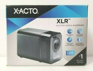 Gently Used X acto Xlr Electric Pencil Sharpener Heavy Duty