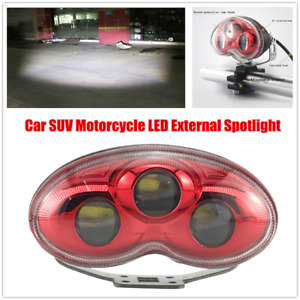 1 unviersal Motorcycle Led External Spotlight Headlight Car Suv Fog Light 12 80v