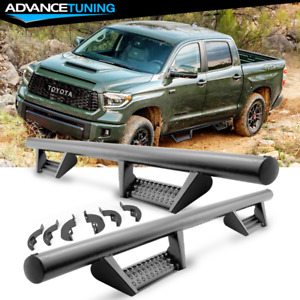 Fits 07 21 Toyota Tundra Crew Cab Double Cab Bck Style Side Step Running Board