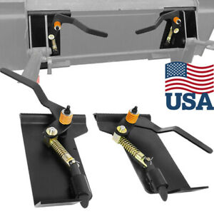 Skid Steer Quick Attach Adapter For Tractor Loaders Conversion Adapter Latch Box