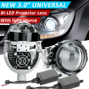 110w 3 0 Bi Led Projector Lens Car Headlight Kit Universal Retrofit Vs Xenon 2x