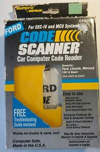 Sunpro Cp9015 Eec Iv And Mcu Systems Code Scanner For Ford