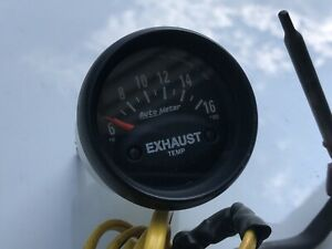 Autometer Exhauat Gas Temp Gauge And Sensor Used