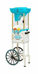 Nostalgia Inch Tall Snow Cone Cart Metal Scoop Makes 48 Icy Treats