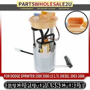 Electrical Fuel Pump Assembly For Dodge Sprinter 2500 3500 L5 2 7l Diesel 03 06
