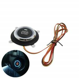 Universal Led Engine Start Stop Button Ignition Starter Kill Switch For Keyless