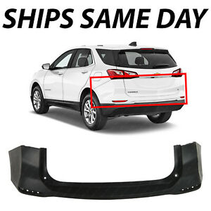 New Primered Rear Upper Bumper Cover Fascia For 2018 2019 2020 Chevy Equinox