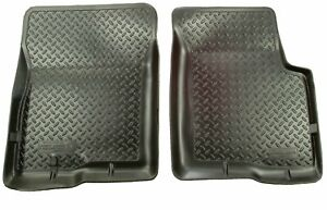 Husky Liners 35111 Classic Style Front Floor Liner For Toyota Tacoma Black