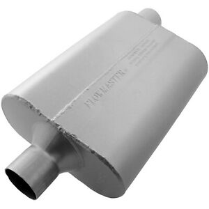 Flowmaster 40 Series Muffler 2 25 In c out o Aggressive Sound