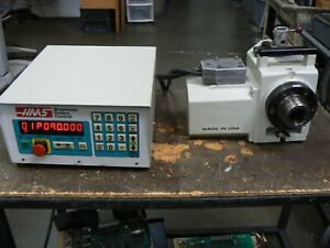 Haas Ha5c Brushless Rotary Indexer Pneumatic Air Collet Closer Controller