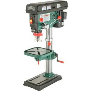 Grizzly G7943 14 Heavy duty Benchtop Drill Press