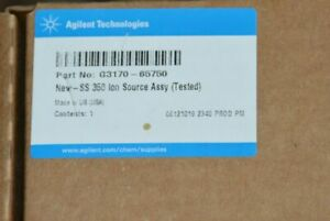 New In Box Agilent New Ss 350 Ion Source Assembly G3170 65750