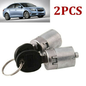 Car Ignition Door Lock Cylinder With 2 Keys Fit For Gmc Chevrolet C1500 1988 94