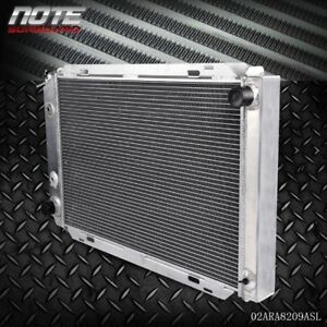 For 1979 1993 Ford Mustang Mt At All Transmission Aluminum Radiator
