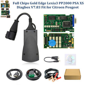 Full Chips Lexia3 Pp2000 Psa Diagbox Fault Codes Reader Fit For Citroen Peugeot