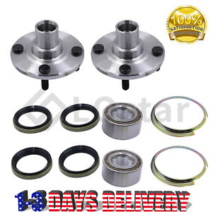 2 X Front Wheel Hub Bearing Assembly For 1993 2002 Toyota Corolla Chevy Prizm
