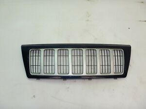 Jeep Grand Cherokee Wj 99 03 Blue W Silver Inserts Front Grille Grill