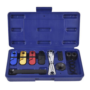 14pc Ac Fuel And Transmission Cooler Line Master Quick Disconnect Tool Kit Set