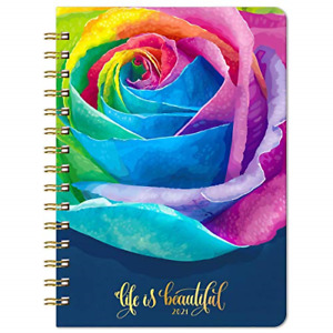 2021 Planner 2021 Weekly Monthly Planner With Rose Hard Cover Jan 2021 X