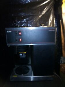 Bunn Vpr Commercial Coffee Maker Brewer 2 Warmers