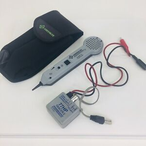 Greenlee Communications Tone Probe 200ep g And 77hp g Tone Generator Case