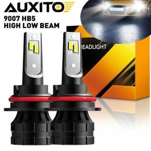 Auxito Led Headlight 9007 Hb5 Hi Low Beam 20000lm Bulbs Super Bright White Lamps