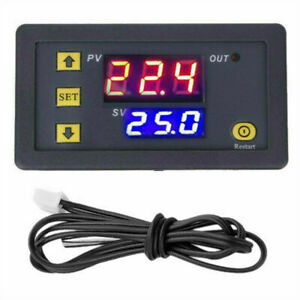 Dc 110v 20a Lcd Digital Thermostat Temperature Controller Meter Regulator W3230_